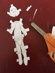 star wars paper doll
